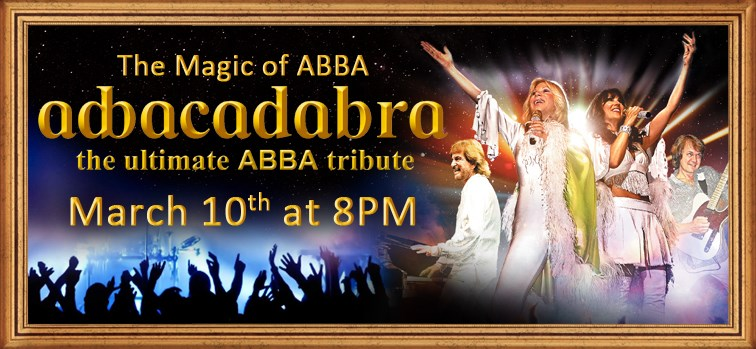 The Magic of ABBA featuring:  Abbacadabra- the ultimate ABBA tribute