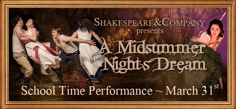 A Midsummer Night's Dream School Time Performance