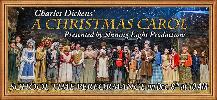 A Christmas Carol School Time Performance