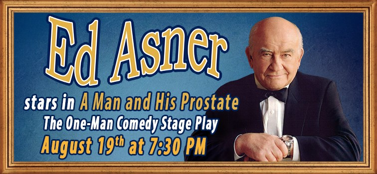 Ed Asner Stars in a One-Man Comedy Stage Play