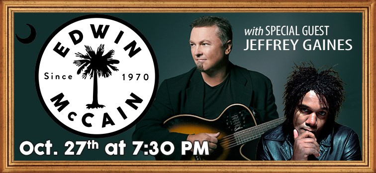 Edwin McCain with Special Guest Jeffrey Gaines
