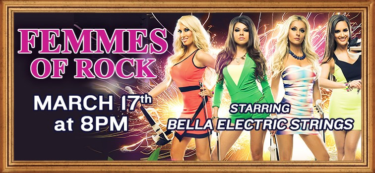 Femmes of Rock - Starring Bella Electric Strings