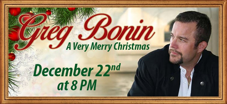 "Greg Bonin ""A Very Merry Christmas"""