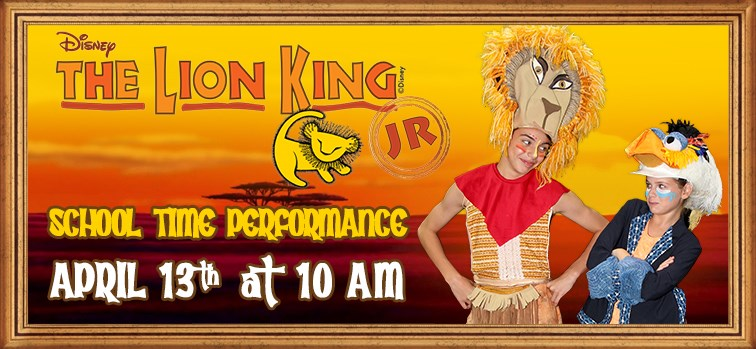 Disney's The Lion King JR. School Time Performance