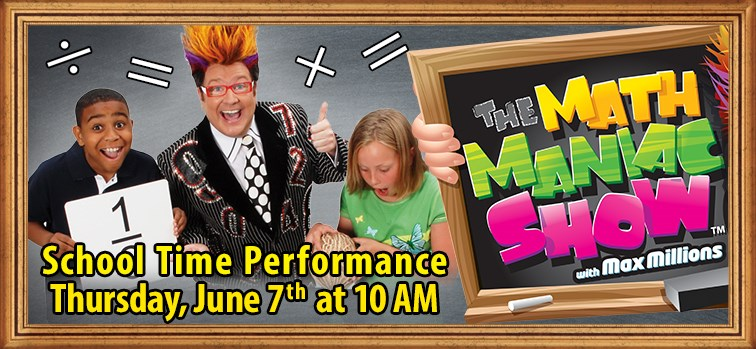 Math Maniac Show School Time Performance