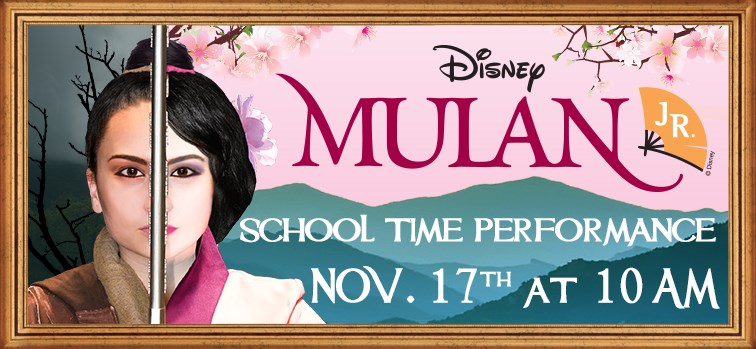 Disney's Mulan Jr. School Time Performance