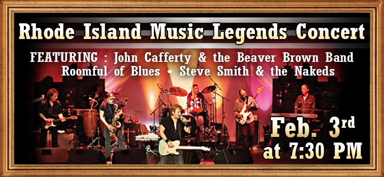 Rhode Island Music Legends Concert