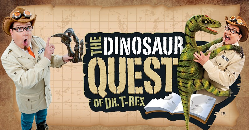 The Dinosaur Quest of Dr. T-Rex