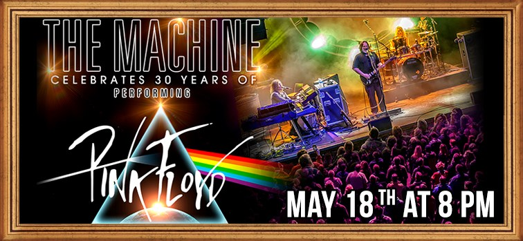 Pink Floyd - The Machine Performs Pink Floyd with the Interstellar Light Show