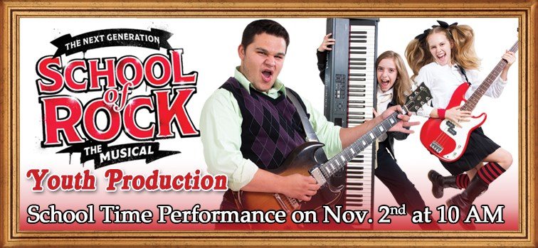 School of Rock  - Youth Production - School Time Performance