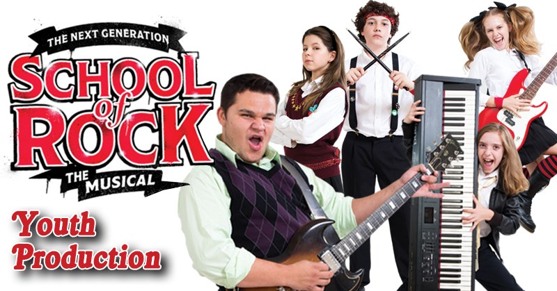 School of Rock The Musical - Youth Production - Nov 2, 3, and 4