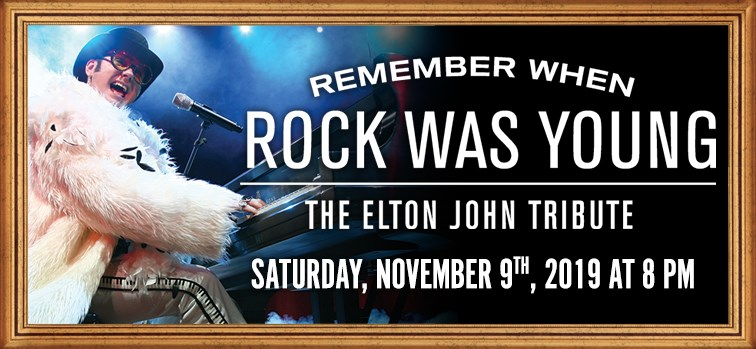 Elton John Tribute - Remember When Rock Was Young