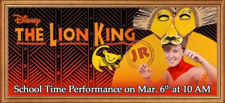 Disney's The Lion King Jr. - School Time Performance