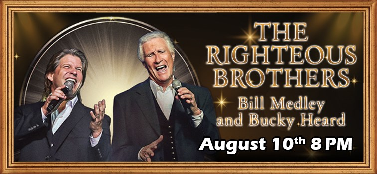 The Righteous Brothers - Bill Medley and Bucky Heard