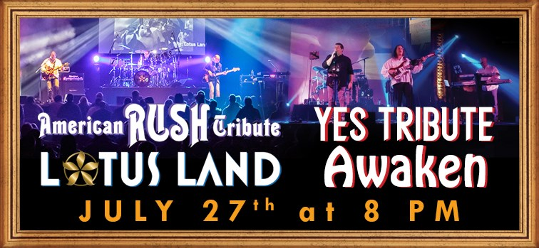 Rush Tribute - Lotus Land | Yes Tribute - Awaken
