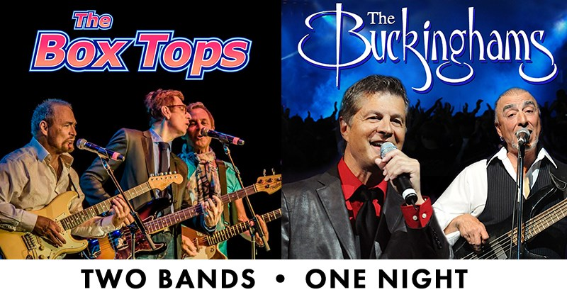 The Box Tops and The Buckinghams