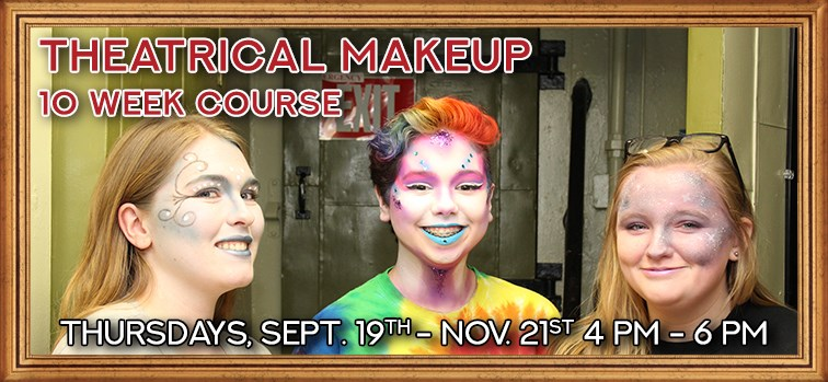 Theatrical Makeup - 10 Week Course
