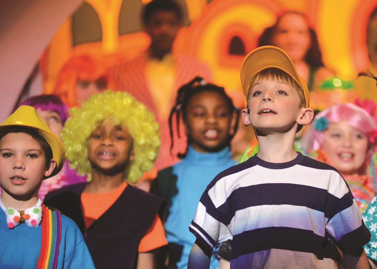 Kids Performing in Seussical the Musical