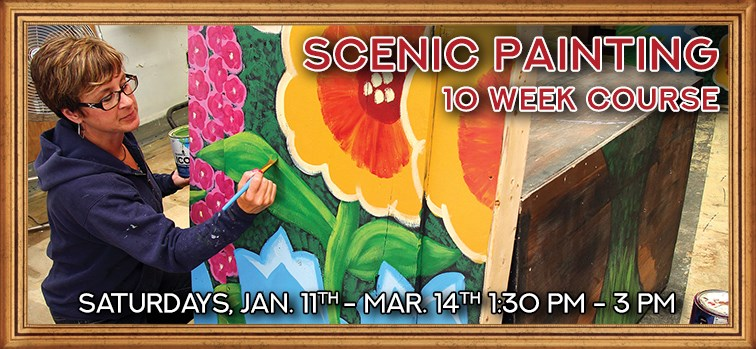 Scenic Painting - 10 Week Course