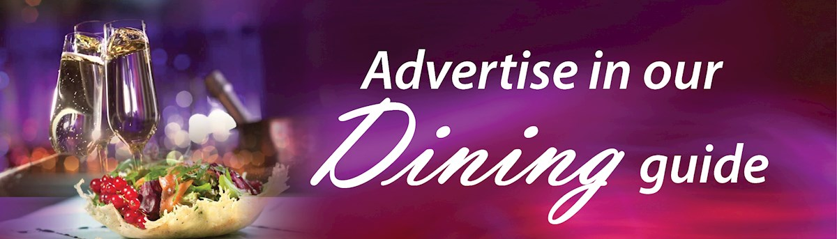 Advertise in the Stadium Dining Guide