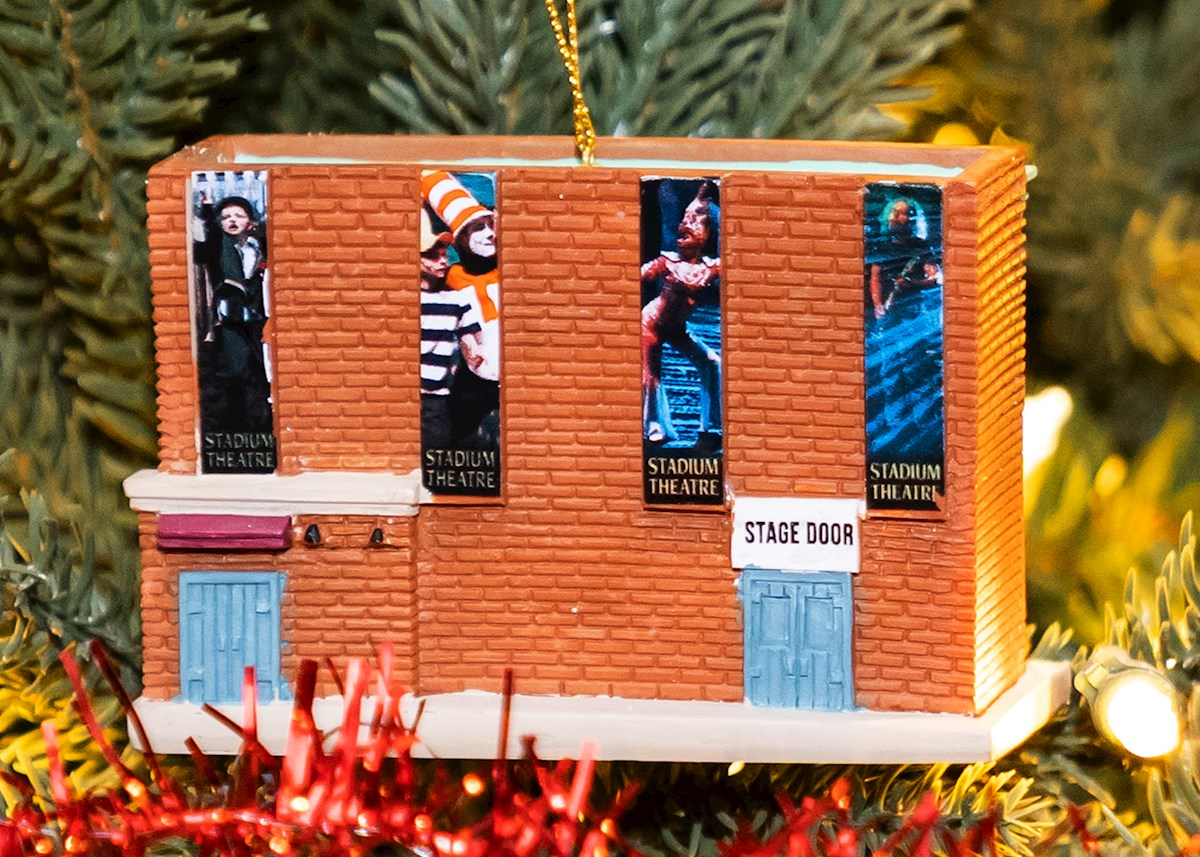 Stadium Theatre My Little Town Ornament  Back