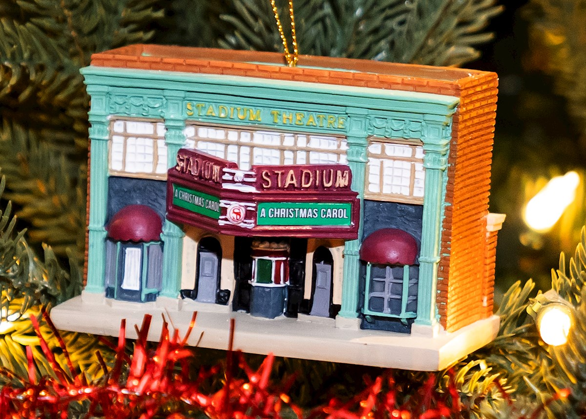 Stadium Theatre My Little Town Ornament  Front